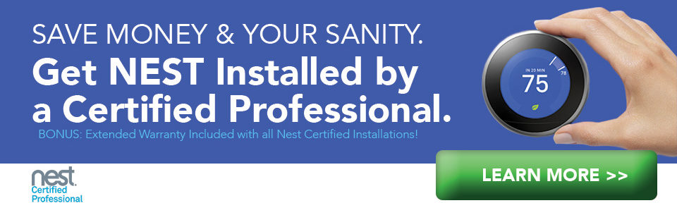 certified nest thermostat installations in Austin